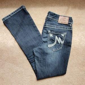 EUC! Maurices jeans size 1/2 X-short